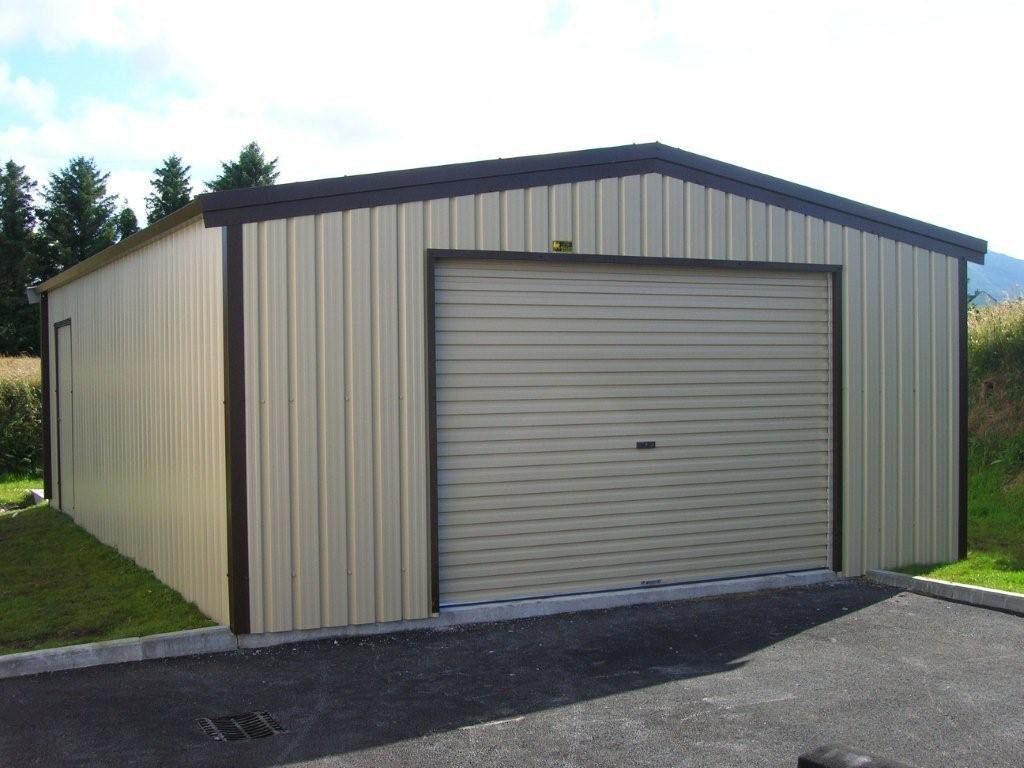 steel stud frame garage